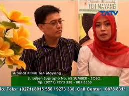 Teh Mayang web tatv solusi untuk sehat klinik teh mayang 17 06 2014 segmen1
