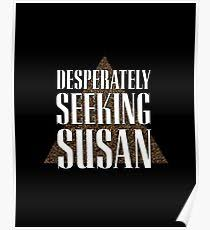 Seeking Poster Desperately Seeking Susan Posters Redbubble
