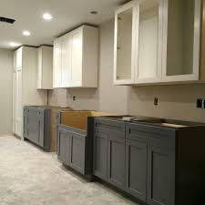 Two Color Kitchen Cabinets Creative Of Two Tone Kitchen Cabinets Simple Interior Home Design