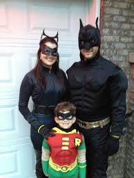 superhero family costume cat woman batman u0026 robin halloween