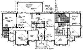 luxury home plans with elevators large house plans plan 44040td for the large family house plans