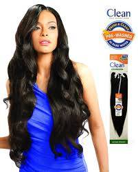 model model human hair weave clean natural straight 12