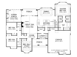 open floor plan house plans one story 44 best dual master suites house plans images on