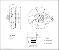 china 200mm electric motor cooling fan blade fj4e 200 v china