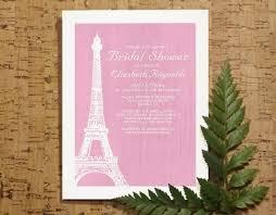 eiffel tower wedding invitations eiffel tower bridal invitations bridal shower invitations