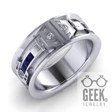 r2d2 wedding ring wars inspired dot jewelry jewelry