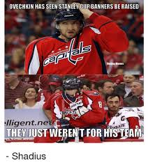 Ovechkin Meme - ovechkin has seen stanley cup banners be raised gto shi hockey