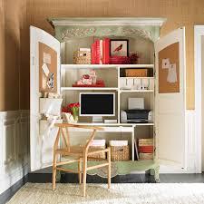 Ballard Design Desk Small Home Office Cabinets Enhancing Space Saving Interior Design