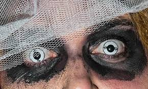 novelty contact lenses u2013 something to be scared of this halloween