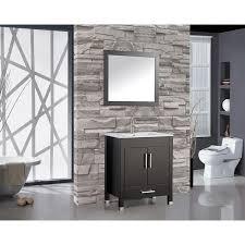 30 In Bathroom Vanities by Mtd Vanities Monaco 30 Inch Single Sink Bathroom Vanity Set With