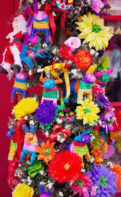 mexican tree decorations san diego town california