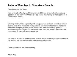 goodbye email to coworkers best business template