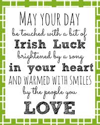 irish blessing printable for st patrick u0027s day