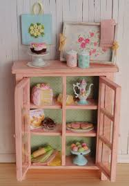 miniature shabby chic kitchen cabinet do it again i like it