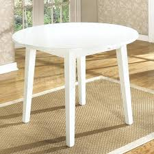 round drop leaf table and 4 chairs white round drop leaf dining table dining table harden furniture
