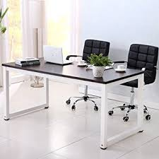 Wooden Home Office Furniture by Amazon Com Office More Computer Desk Wood Pc Laptop Table