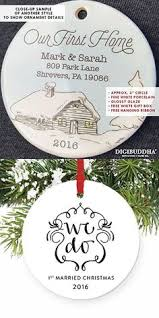 old world christmas brunette bride wedding glass ornament
