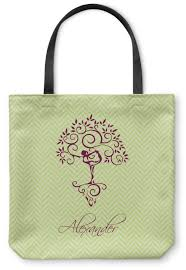 tree canvas tote bag personalized baby n toddler