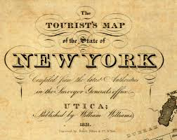New York Map Rochester by Rochester Local History Rocs