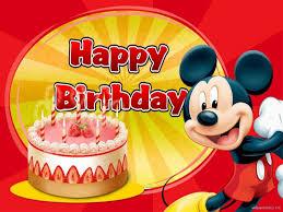mickey mouse birthday wallpaper 08008 baltana
