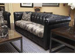 Traditional Chesterfield Sofa by Klaussner Beech Mountain Traditional Chesterfield Sofa With Rolled