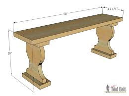 Wooden Garden Bench Plans by Outdoor Garden Bench Her Tool Belt
