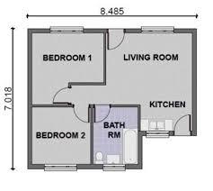 two bedroom house floor plans 2 bedroom modern house plans homes floor plans