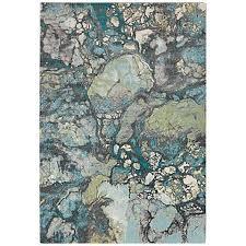 Blue Grey Area Rug Surya Aberdine 7 U00276
