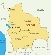 Blank Pacific Map by Bolivia Map Blank Political Bolivia Map With Cities
