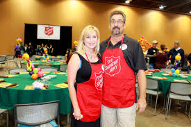 salvation army thanksgiving volunteer volunteers find love new frontier chronicle