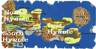 termina map hyrule a geography and cartography universe