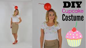 diy ice cream cupcake halloween costume youtube