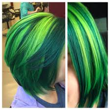 pravana neon blue and neon yellow mixed together to make the lime
