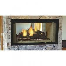 see through wood burning fireplace binhminh decoration