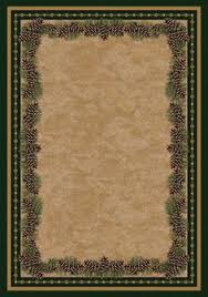 Rustic Lodge Rugs Chard Large Ice Maker Cones Areas And Products