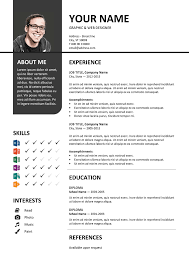 colorful resume templates free 28 images free resume templates