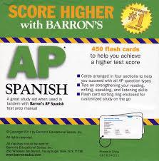 barron u0027s ap spanish flash cards spanish teacher u0027s discovery