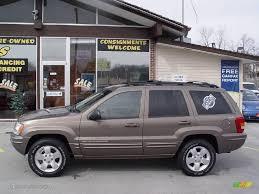 cherokee jeep 2001 2001 woodland brown satin glow jeep grand cherokee limited 4x4