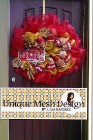 best 20 49ers wreath ideas on pinterest san francisco football