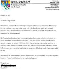 letters of recommendation u2013 educator fights back