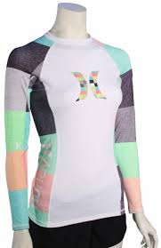 cool lava ls for sale hurley women s one only ls rash guard heather lava kingsroad for