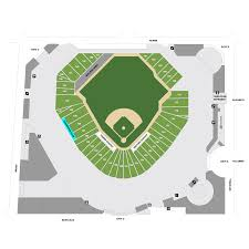 Mlb Map Comerica Park Map Detroit Tigers