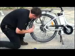 réparer une chambre à air de vélo monter une chambre à air éaire sur vélo électrique