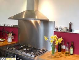 plaque inox cuisine plakinox photos crédences inox réalisation de crédences plaques