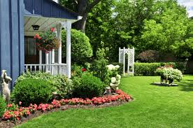 garden design with flower bed ideas landscape from landscap