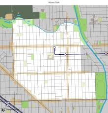 Chicago Neighborhood Maps by Map Of Building Projects Properties And Businesses In Albany