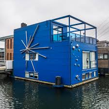 floating houses as sea levels rise rotterdam floats to the top as an example of