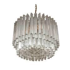 Venini Chandelier Camer Style Murano Glass Chandelier For Venini Amarynth Lighting