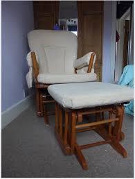Rocking Chair Dutailier Dutailier Glider Rocking Nursing Nursery Chair U0026 Footstool