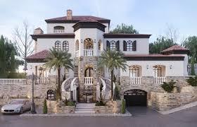 mediterranean house luxury mediterranean house exterior and landscape design cas